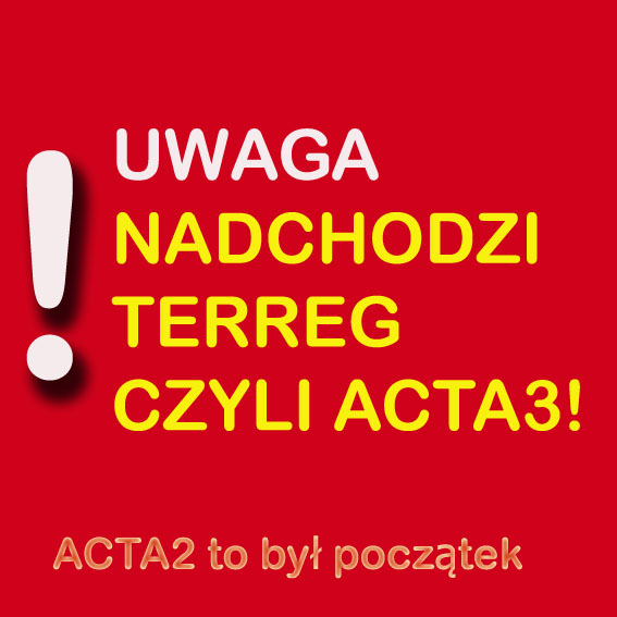Terreg czyli Acta version 3